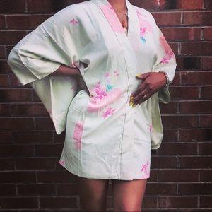 Vintage short kimono